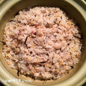 土鍋で炊く雑穀ごはん