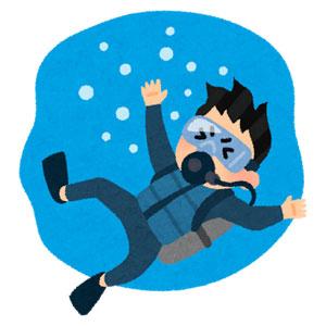 ダイビングの事故