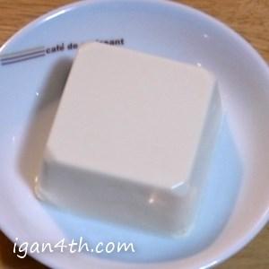 豆腐をレンチンする