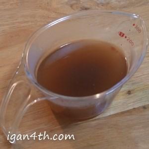 土鍋でつくる麻婆豆腐の材料(合わせ調味料)